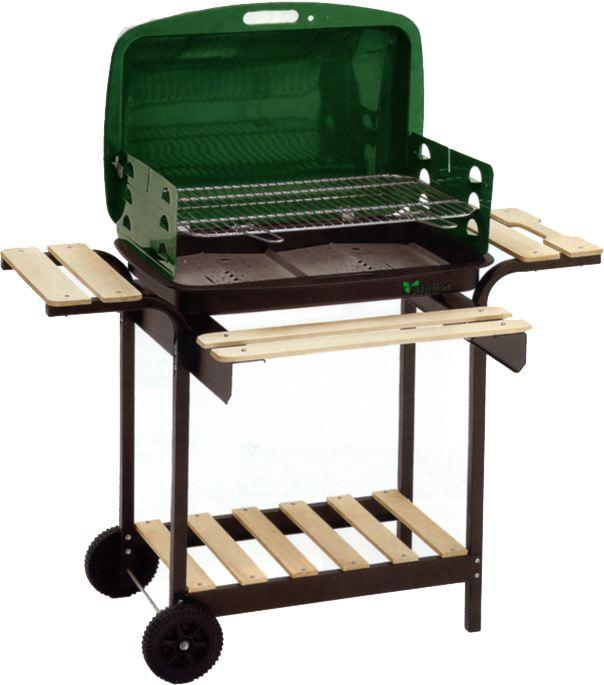 Il barbecue a legna per il giardino arredamento giardini - Barbecue da giardino a legna ...