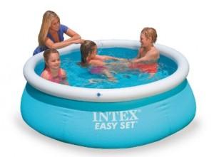 piscina in plastica