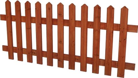 La staccionata in legno arredamento giardini - Staccionate in legno per giardini ...