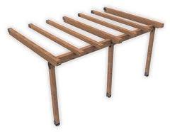pergolato in legno