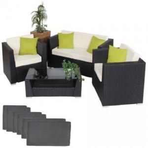 mobili in alluminio per il giardino