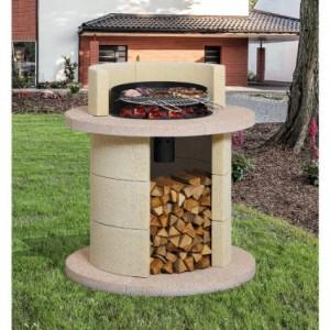 Barbecue in muratura da giardino arredamento giardini - Barbecue da giardino in pietra ...